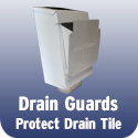 Drain Guard keeps your drain tile clean